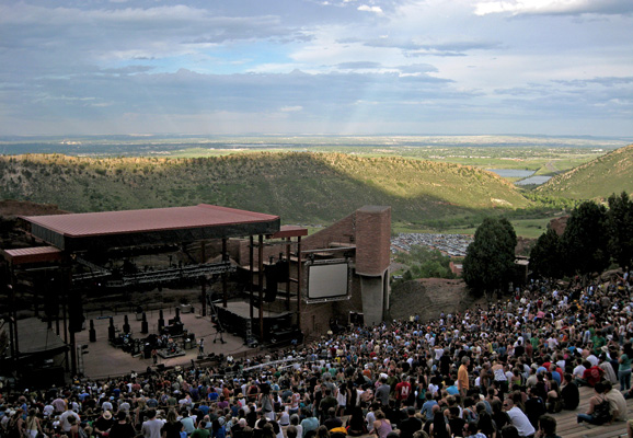 Red Rocks Concert Venue Denver
