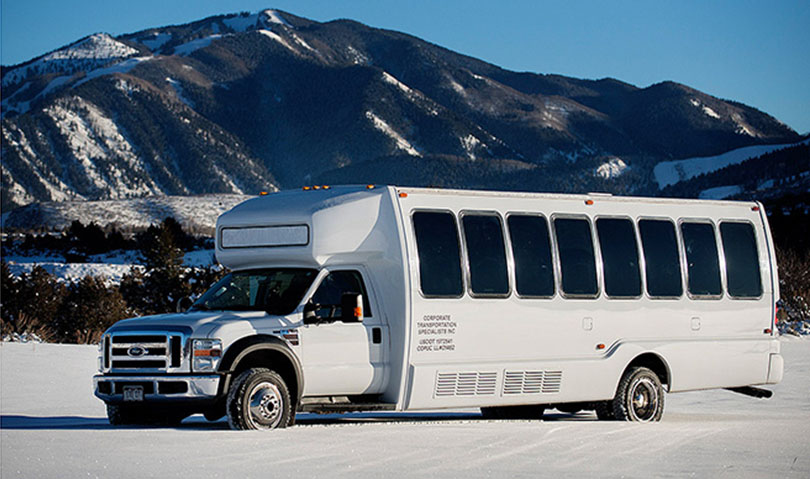 4 Wheel Drive 28 Passenger Mini Coach