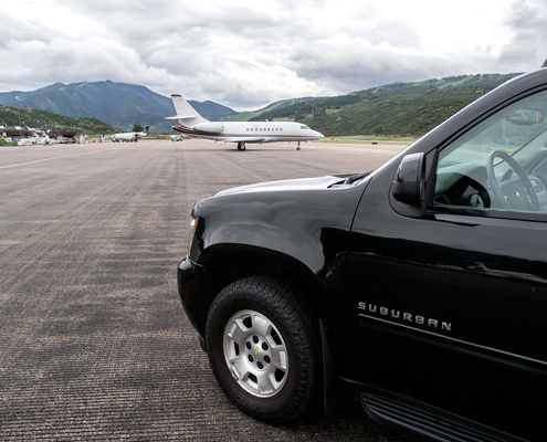 Aspen Private Jet Apron Service